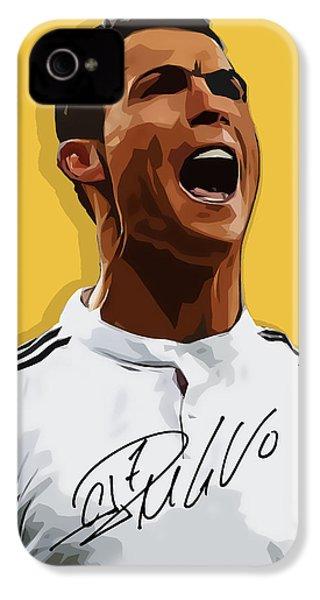 Cristiano Ronaldo Cr7 IPhone 4s Case by Semih Yurdabak
