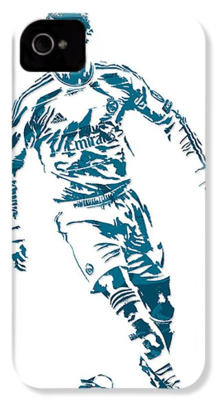 Cristiano Ronaldo Real Madrid Pixel Art 1 IPhone 4s Case