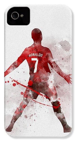 Cristiano Ronaldo United IPhone 4s Case