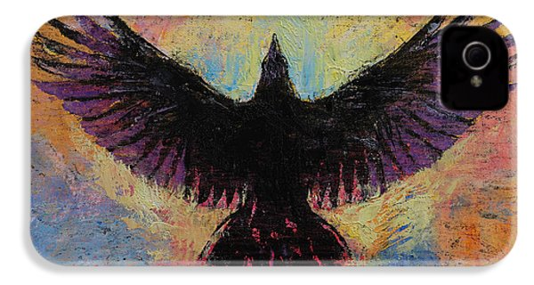 Crow IPhone 4s Case by Michael Creese