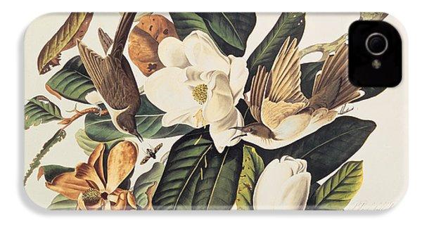 Cuckoo On Magnolia Grandiflora IPhone 4s Case by John James Audubon