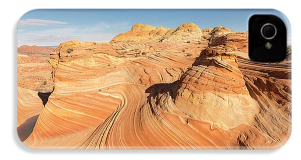 Curves Into Waves IPhone 4s Case by Tim Grams