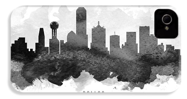 Dallas Cityscape 11 IPhone 4s Case by Aged Pixel