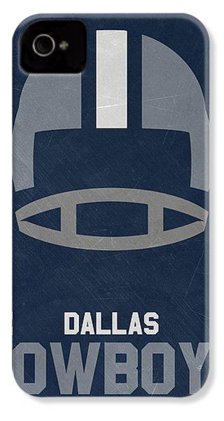 Dallas Cowboys Vintage Art IPhone 4s Case