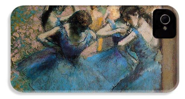 Dancers In Blue IPhone 4s Case