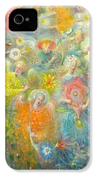 Daydream After The Music Of Max Reger IPhone 4s Case by Annael Anelia Pavlova