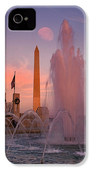 Dc Sunset IPhone 4s Case by Betsy Knapp