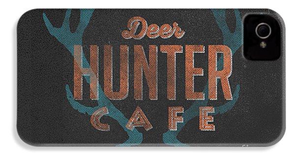 Deer Hunter Cafe IPhone 4s Case by Edward Fielding