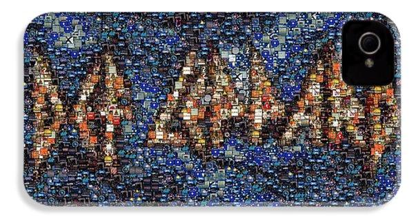 Def Leppard Albums Mosaic IPhone 4s Case by Paul Van Scott