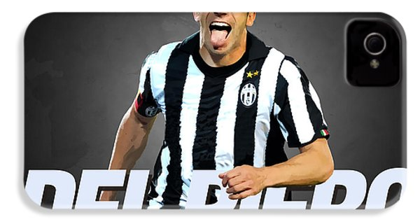 Del Piero IPhone 4s Case