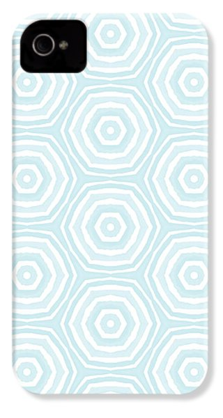 Dip In The Pool -  Pattern Art By Linda Woods IPhone 4s Case