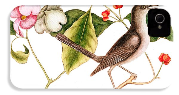 Dogwood  Cornus Florida, And Mocking Bird  IPhone 4s Case