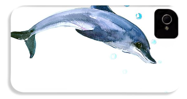Dolphin IPhone 4s Case by Suren Nersisyan