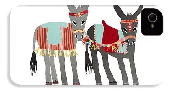 Donkeys IPhone 4s Case by Isoebl Barber