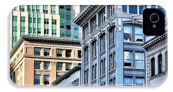 Downtown San Francisco IPhone 4s Case by Julie Gebhardt