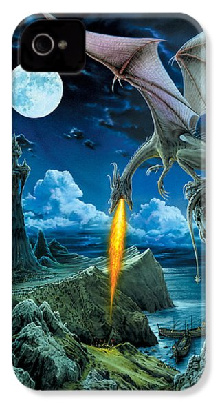 Dragon Spit IPhone 4s Case by The Dragon Chronicles - Robin Ko