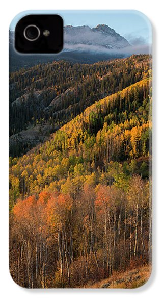 IPhone 4s Case featuring the photograph Eagle's Nest Peak Vertical by Aaron Spong
