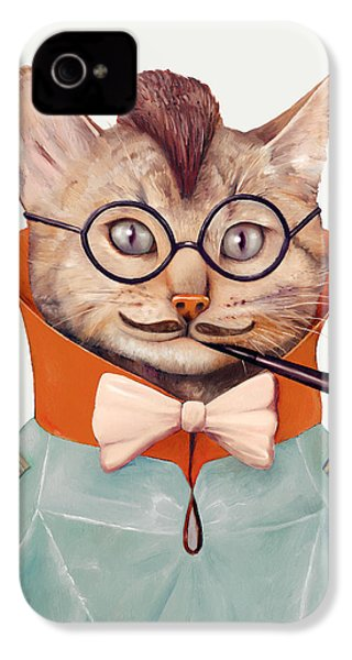 Eclectic Cat IPhone 4s Case by Animal Crew
