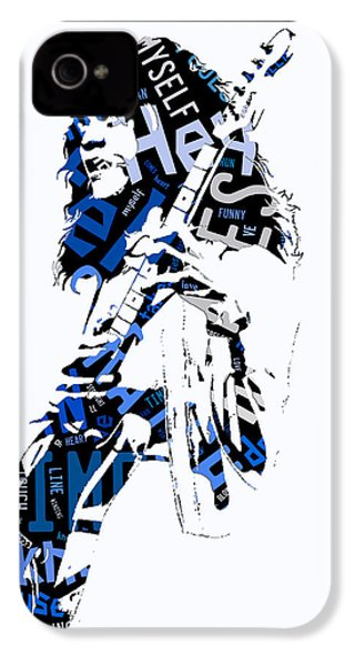 Eddie Van Halen Why Can't This Be Love Lyrics IPhone 4s Case
