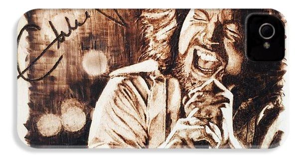 Eddie Vedder IPhone 4s Case by Lance Gebhardt