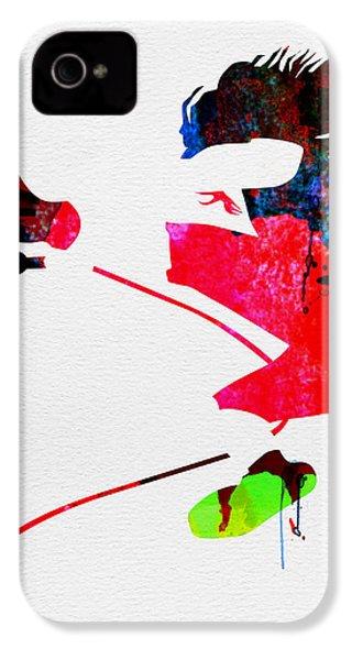 Eddie Watercolor IPhone 4s Case by Naxart Studio