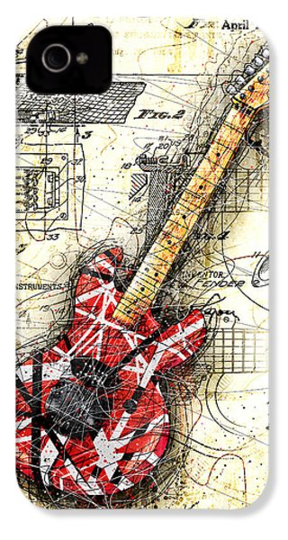 Eddie's Guitar II IPhone 4s Case