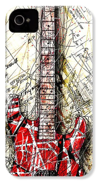 Eddie's Guitar Vert 1a IPhone 4s Case