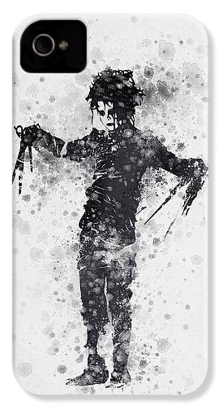 Edward Scissorhands 01 IPhone 4s Case