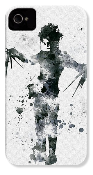 Edward Scissorhands IPhone 4s Case