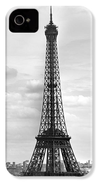 Eiffel Tower Black And White IPhone 4s Case