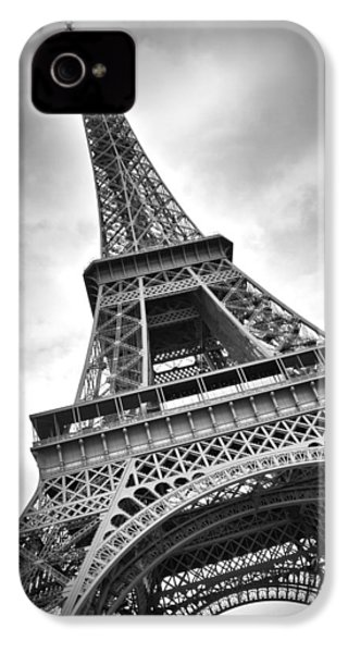 Eiffel Tower Dynamic IPhone 4s Case by Melanie Viola