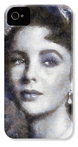 Elizabeth Taylor By Sarah Kirk IPhone 4s Case