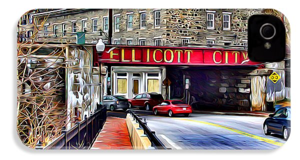 Ellicott City IPhone 4s Case