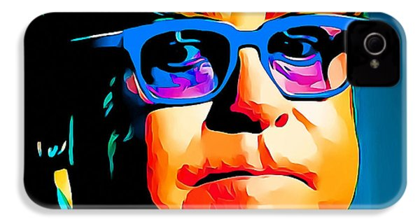 Elton John Blue Eyes Portrait IPhone 4s Case