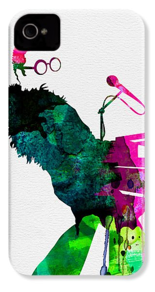 Elton Watercolor IPhone 4s Case