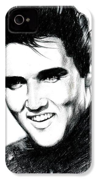 Elvis IPhone 4s Case by Lin Petershagen