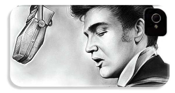 Elvis Presley IPhone 4s Case by Greg Joens