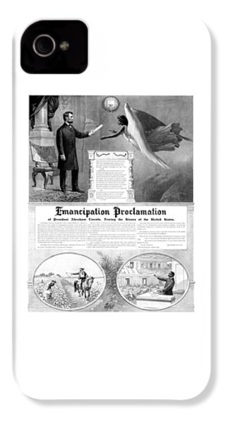 Emancipation Proclamation IPhone 4s Case