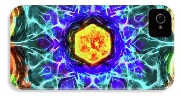 Emerald Circle Mandala IPhone 4s Case by Yulia Kazansky