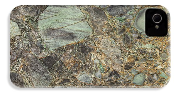 Emerald Green Granite IPhone 4s Case by Anthony Totah