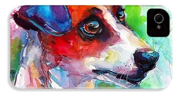 Emotional Jack Russell Terrier IPhone 4s Case