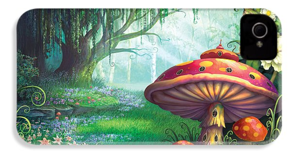 Enchanted Forest IPhone 4s Case by Philip Straub