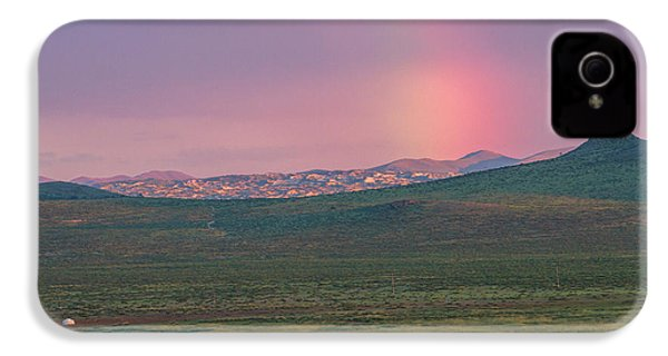 IPhone 4s Case featuring the photograph End Of Rainbow by Hitendra SINKAR