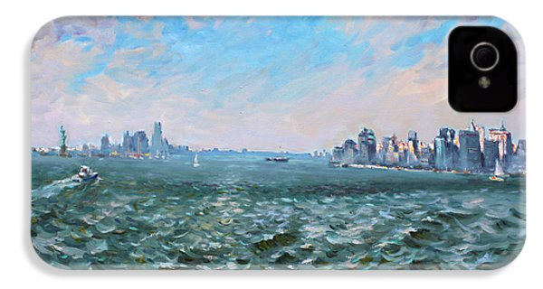 Entering In New York Harbor IPhone 4s Case by Ylli Haruni