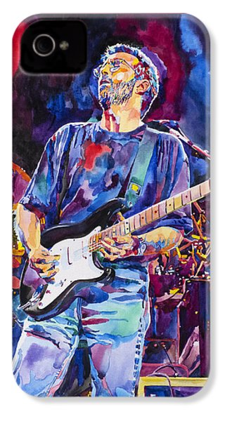 Eric Clapton And Blackie IPhone 4s Case by David Lloyd Glover