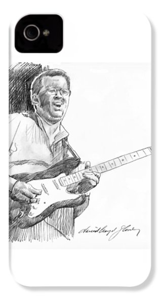 Eric Clapton Jam IPhone 4s Case by David Lloyd Glover