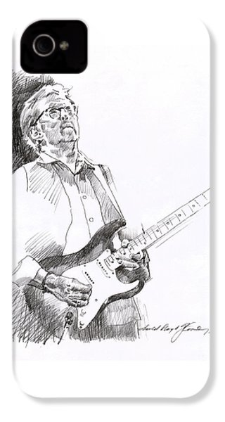Eric Clapton Joy IPhone 4s Case by David Lloyd Glover