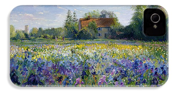 Evening At The Iris Field IPhone 4s Case by Timothy Easton
