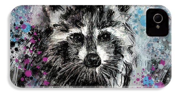 Expressive Raccoon IPhone 4s Case