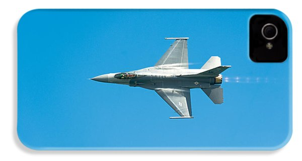 F-16 Full Speed IPhone 4s Case by Sebastian Musial